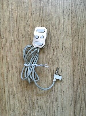 Authentic Original remote control cable for Apple IPod A1018 - Very Rare