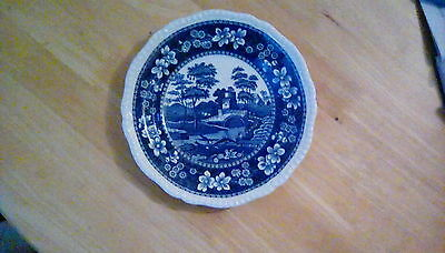 Copeland Spode blue and white plate