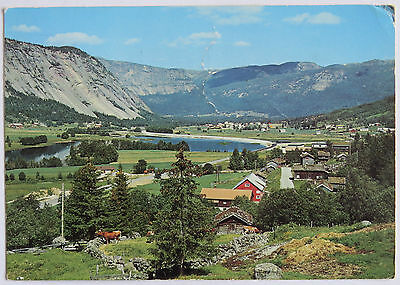 Postcard Norway. Setesdal Valley. Posted 1986