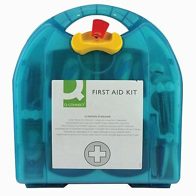 First Aid Kit Wall Mounted Injury Wound Set Medical Home Office for 1-10 People