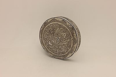 Antique Original Perfect Full Silver Persian Amazing Box