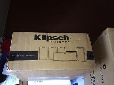 NEW IN BOX  Klipsch 5-Channel Home Theater Speakers Model: QUINTET V 5.0 5