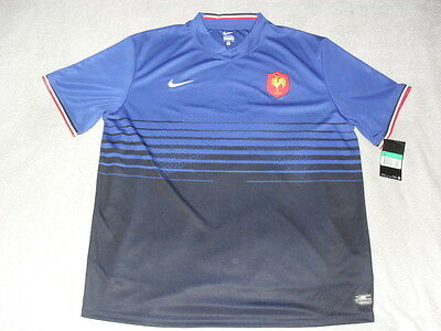 Maillot rugby Nike Equipe de France Taille XL ETAT NEUF