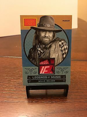 Willie Nelson 2014 Panini Legends Of Music Golden Age Patch Card