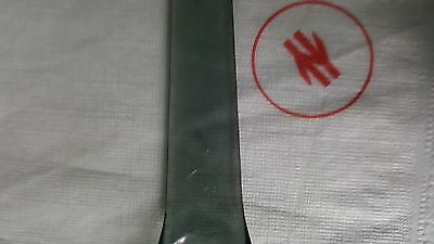 British Rail caterinf plastic tea spoon and serviette with emblem 1970s