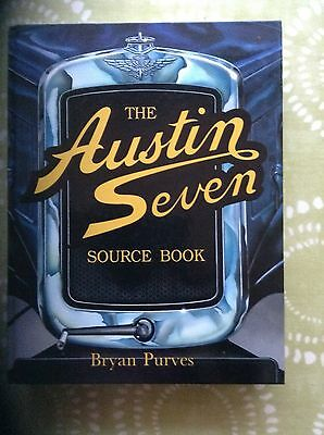 The Austin Seven Source Book by Brian Purves