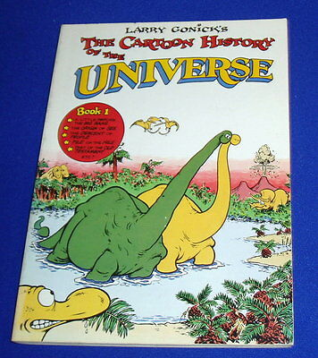 Cartoon History of the Universe  book 1. 1982 1st edition. VFN.