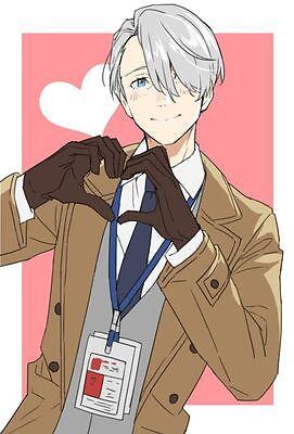 POSTER YURI ON ICE Katsuki VICTOR SKATING PATTINAGGIO ARTISTICO ANIME MANGA #11
