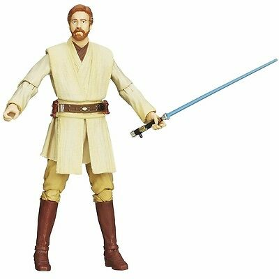 STAR WARS Episode 2 BLACK Series OBI-WAN KENOBI Action Figure BANDAI from Japan