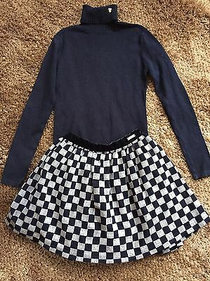 mayoral girls Top And Skirt Set