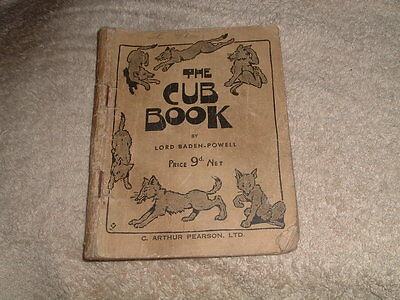 The Cub Book, Lord Baden Powell, Vintage 1947 Publication, Rare, Scouts, Cubs