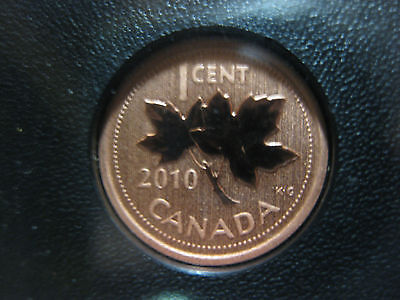 2010 UNC Magnetic Specimen Canadian Penny One Cent - 1 Cent Coin
