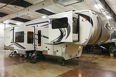 New 2017 381FL Front Living Room Luxury 5 Slide Out 5th Fifth Wheel, Sleeps 6