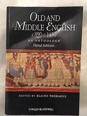 Old And Middle English An Anthology