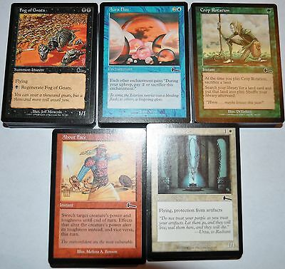 4x 55 card complete Magic the Gathering Urza's Legacy common set