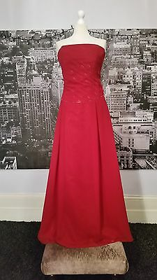 Amanda Wyatt Dress (Red-Size-24)  Prom, Ball, Cocktail, Party, RRP £200+