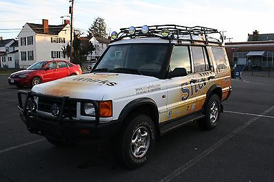 2001 Land Rover Discovery SE7 Land Rover Discovery II SE7 SUV - lifted, roof rack WITH EXTRA MOTOR & MORE!