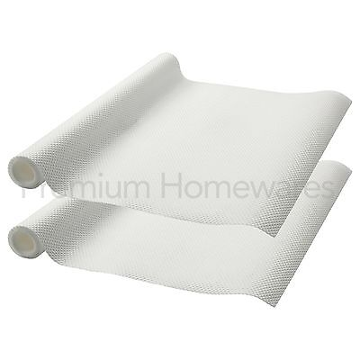 2 x Rolls of IKEA VARIERA Non-Slip Kitchen Drawer/Cupboard Liner Mat (150x50cm)