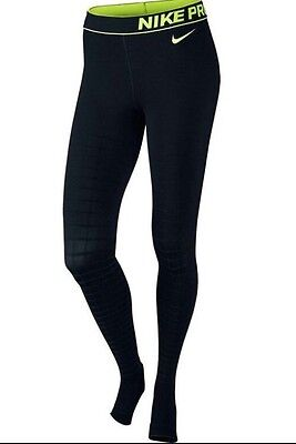 Nike Pro Women's Recovery Hypertight Running Tights Size Small (642550-010)