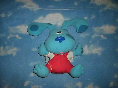 """2000 Fisher Price Mattel All Ears Blues Clues Plush Talking Musical Toy 12"""""""