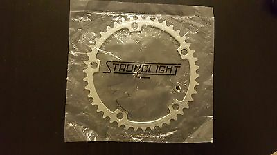 Nos Stronglight 107 pista plateaux chainrings size 42 or 52