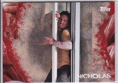 2016 Topps Walking Dead Survival Nicholas Thick Trading Card #31