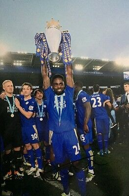 Nathan Dyer Leicester City Fc Foxes Hand Signed 12X8 Photo