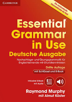 Essential Grammar in Use. German Third Edition . Book with answers and Inte ...