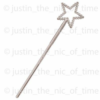 SILVER WAND Sparkle Girls Princess Birthday Party Bag Fillers Childrens Toys Kid