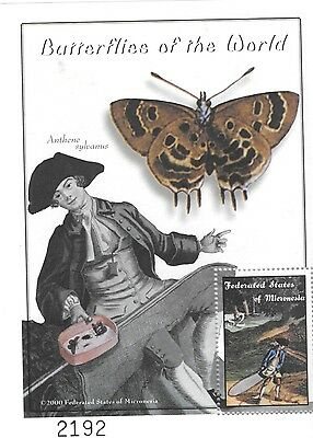 Micronesia - Butterflies of the World, 2000 - Sc 376 S/S MNH