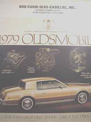 1979 OLDSMOBILE NEWSPAPER Supplement Full Line Advertisement 8 pages