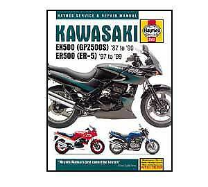 2052 Kawasaki GPZ 500S 1987-2005 Haynes Workshop Service Manual Book