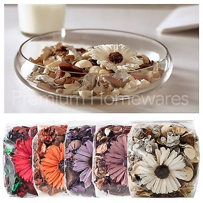 Bag of IKEA DOFTA Scented Potpourri with Flower (Brown/Orange/White/Lilac/Red)