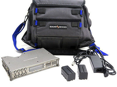 Sound Devices 788T-SSD portable digital audio recorder 256GB SSD CompactFlash