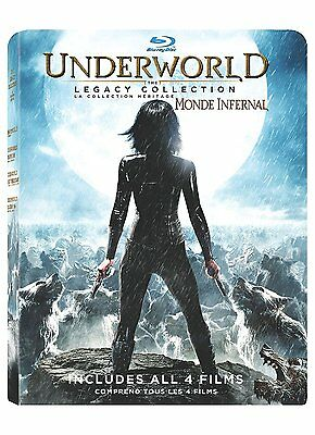 Underworld: The Legacy Collection [Blu-ray Box Set, 4 Movies, Region A, 4-Disc]