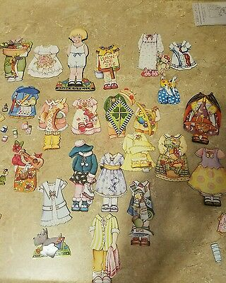 Anne Estelle dolls Dress up Doll Clothes and accessories magnetic lot