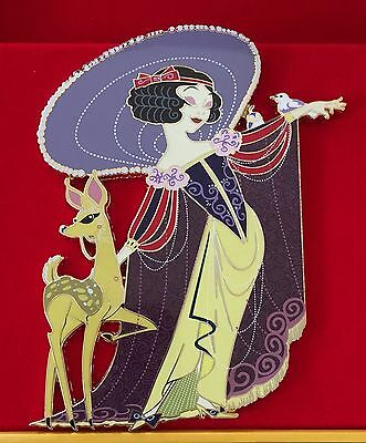 Snow White Gentle Wishes Disney Pin Acme Archive Artist Series Litho Jumbo Le100