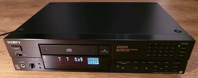 Rare Vintage Sony CDP-X222ES Audiophile Stereo HiFi CD Compact Disc player