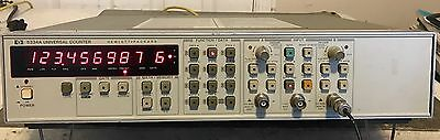 HP 5334A 100 MHz Universal Counter Timer Clean and Tested