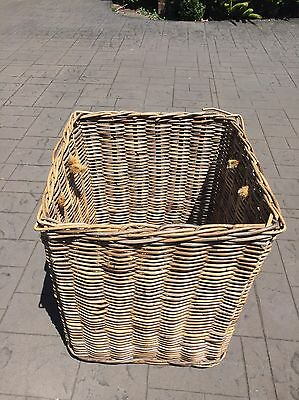 Extra Large Wicker Cane Hamper Toy Box