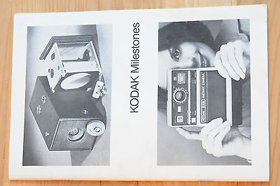 1976 Kodak Milestones booklet a must for Kodak collectors!