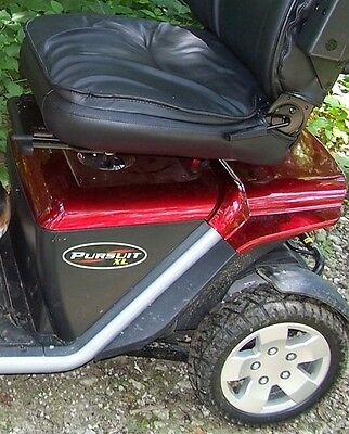 Mobility Scooter Pride Pursuit XL Rear Shroud only, Red Cover Accessories. New
