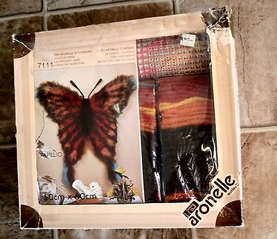 Aronelle Textiles Latch Hook Rug Kit - Butterfly