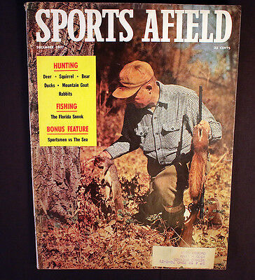 Vintage Sports Afield 1957 Hunting Fishing Florida Snook Training Foxhounds