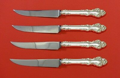 Spanish Baroque by Reed and Barton Sterling Silver Steak Knife Set 4pc Custom