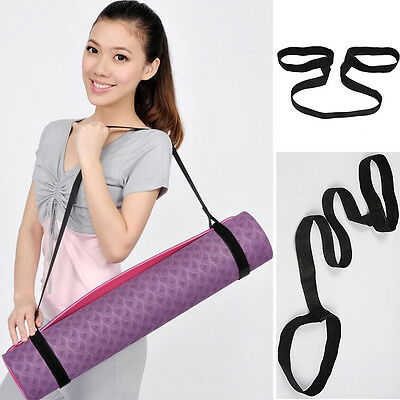 Universal Ajustable Sling Carrier Shoulder Carry Strap Durable Belt for Yoga Mat