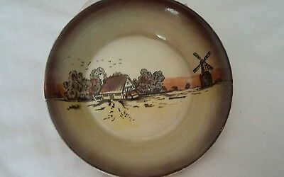 1920's Newport pottery 'County Side ' pin dish.