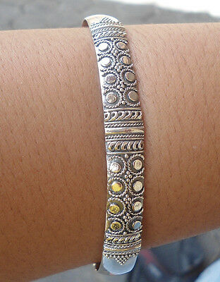 925 Sterling Silver-LL801-Balinese Handcrafted Bangle