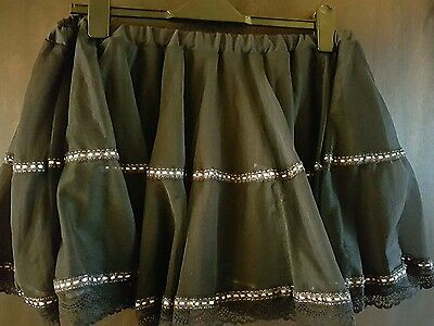 ladies lingerie skirt double layer large size