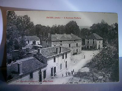 CPA 10 (Aube)   BAYEL / L'ANCIENNE TAILLERIE /  ANIMEE
